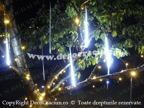 turturi luminosi led exterior iluminat festiv